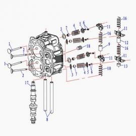 Запасные части к моторам